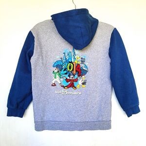 WALT DISNEY Mickey & friends zip up hoodie jacket